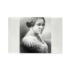 Madame C.J. Walker Rectangle Magnet