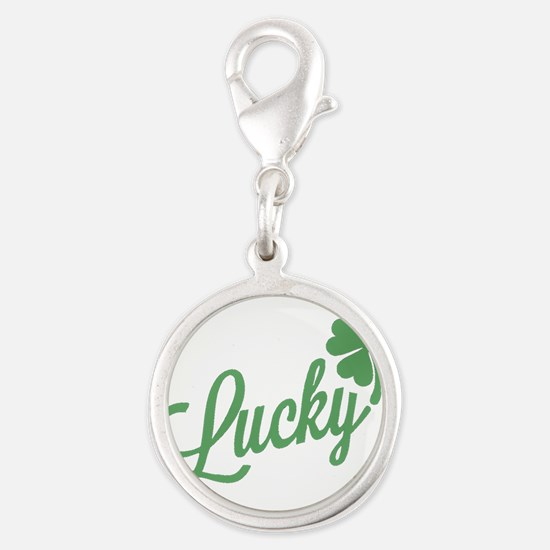 Holiday St. Patrick's Four Leaf Clover Charms
