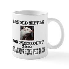 Arnold Ziffle for president 2 Small Mug
