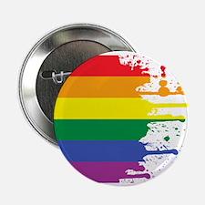 "GLBT Flag (Blank) 2.25"" Button (100 pack)"