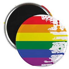 GLBT Flag (Blank) Magnet