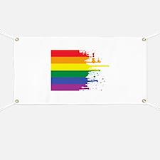 GLBT Flag (Blank) Banner