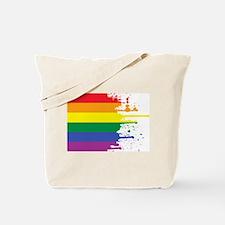 GLBT Flag (Blank) Tote Bag