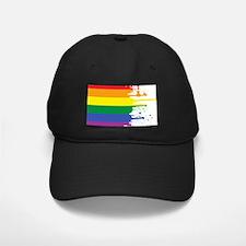 GLBT Flag (Blank) Baseball Hat