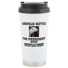 Arnold Ziffle for president 2 Travel Mug