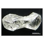 Twinned Diamond Crystals 23x35