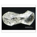 Twinned Diamond Crystals 13x20