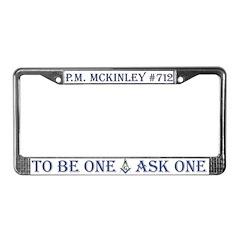 McKinley License Plate Frame