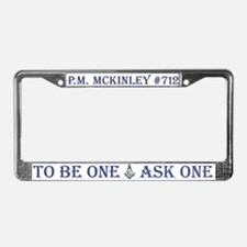 McKinley License Plate Frame