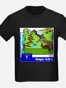 Oregon Map T