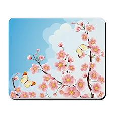 Cherry Blossom Sakura Mousepad