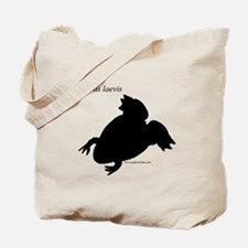Cute Xenopus laevis Tote Bag
