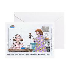 WineToons Greeting Card