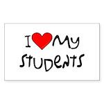 My Students: Rectangle Sticker 10 pk)
