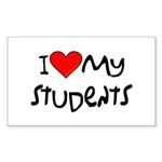 My Students: Rectangle Sticker