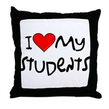 My Students: Throw Pillow