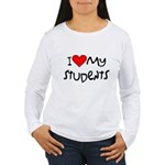 My Students: Women's Long Sleeve T-Shirt