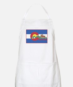 Colorado Flag BBQ Apron