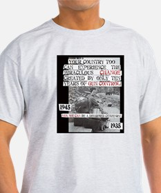 The CHANGE Made by 10 Years of Gun Control T-Shirt
