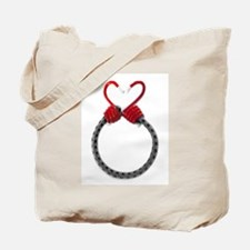 Bungee Heart Tote Bag