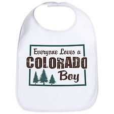 Colorado Boy Bib