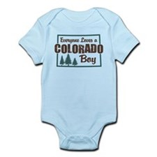 Colorado Boy Infant Bodysuit