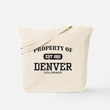 Property of Denver Tote Bag