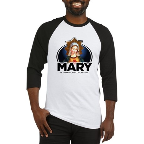 Mary The Immaculate Conception Baseball Jersey