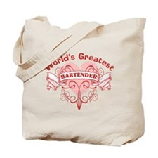 World's Greatest Bartender Tote Bag