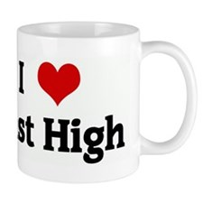 I Love East High Mug