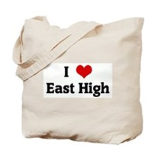 I Love East High Tote Bag