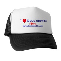 I Love Recumbents Trucker Hat