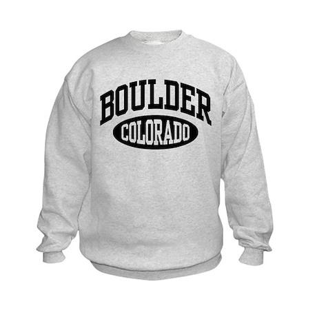 Boulder Colorado Kids Sweatshirt