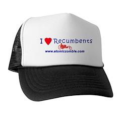 I Love Recumbents Trucker Hat