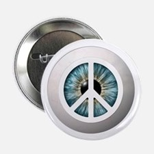 """Peace eye 2.25"""" Button (10 pack)"""