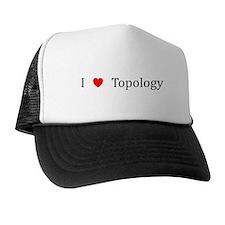 I Heart Topology Trucker Hat