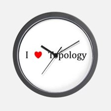 I Heart Topology Wall Clock