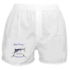 White Marlin Boxer Shorts