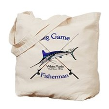 White Marlin Tote Bag