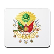 Ottoman Empire Coat of Arms Mousepad