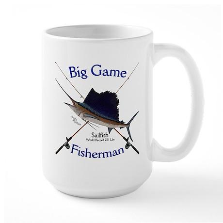Sailfish Large Mug