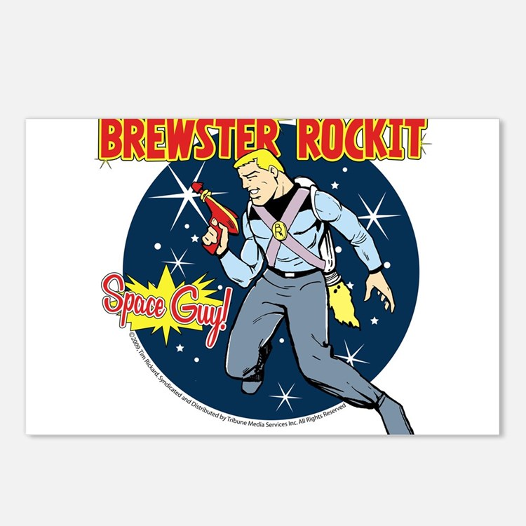 Brewster Rockit Postcards (Package of 8)