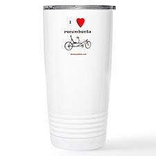 I love recumbents Travel Mug