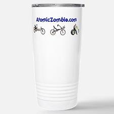 Atomic Zombie Stainless Steel Travel Mug