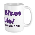 Tall Bikes Rule Large Mug