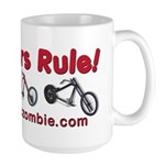 Choppers Rule Large Mug