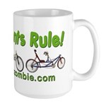 Recumbents Rule Large Mug