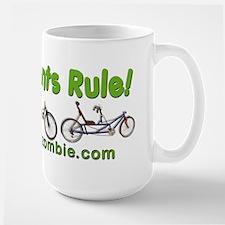 Recumbents Rule Large Mug