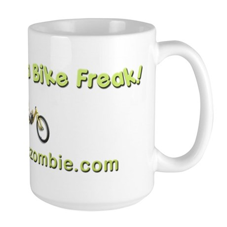 Bike Freak Large Mug