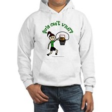Light Green Basketball Hoodie